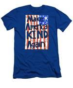 Make America Kind Again Men's T-Shirt (Athletic Fit)