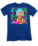 Marilyn Monroe Light And Butterflies Men's T-Shirt (Athletic Fit)