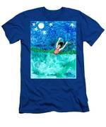 Mermaid Metamorphosis Men's T-Shirt (Athletic Fit)