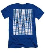 Moveonart Future Visions 1 Men's T-Shirt (Athletic Fit)