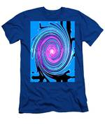 Moveonart Waves Of Renewal I Men's T-Shirt (Athletic Fit)