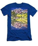 My Maroon Bells Men's T-Shirt (Athletic Fit)