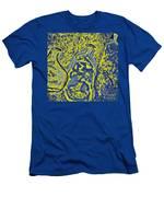 Odd On Highlighter Men's T-Shirt (Athletic Fit)