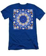Ovarian Cancer Awareness Mandala Men's T-Shirt (Athletic Fit)