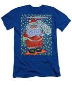 Papa Noel Des Etoilles Men's T-Shirt (Athletic Fit)