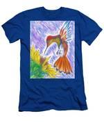 Phoenix Fire Hummingbird Men's T-Shirt (Athletic Fit)
