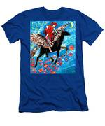 She Flies With The West Wind Men's T-Shirt (Athletic Fit)