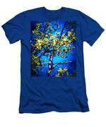 Sky Bloom Men's T-Shirt (Athletic Fit)