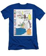 Sock It To The World Men's T-Shirt (Athletic Fit)