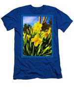 Spring Series Painting Men's T-Shirt (Athletic Fit)