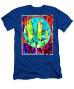 Stained Glass Candles Men's T-Shirt (Athletic Fit)