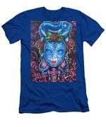 Sugar Skull Men's T-Shirt (Athletic Fit)