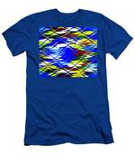 Sun Beach And Glass Catus 1 No. 1 H B Men's T-Shirt (Athletic Fit)