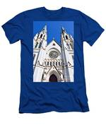 The Cathedral Of St. John The Baptist Men's T-Shirt (Athletic Fit)