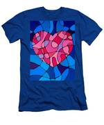 Treu Love Men's T-Shirt (Athletic Fit)