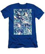 Turbo Turquoise  Men's T-Shirt (Athletic Fit)