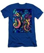 Water Horses B Men's T-Shirt (Athletic Fit)