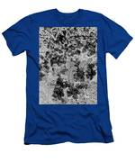 Waxleaf Privet Blooms On A Sunny Day In Black And White - Color Invert Men's T-Shirt (Athletic Fit)