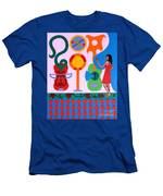 Welcome To The Show Men's T-Shirt (Athletic Fit)