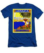 Wellcome To Jamaica Men's T-Shirt (Athletic Fit)