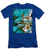 Wrinkly Petals Men's T-Shirt (Athletic Fit)