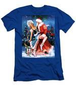 Vintage Soviet Holiday Postcard Men's T-Shirt (Athletic Fit)