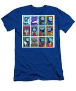 Cat Zodiac Paintings  Men's T-Shirt (Athletic Fit)