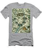 Tigris And Euphrates, Babylonia Men's T-Shirt (Athletic Fit)