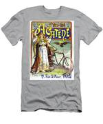 Ad Bicycles, 1898 Men's T-Shirt (Athletic Fit)