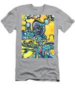 Animatronic Sunrise Men's T-Shirt (Athletic Fit)