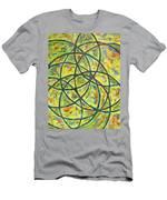 Circles Men's T-Shirt (Athletic Fit)