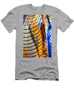 Colors And Lines Men's T-Shirt (Athletic Fit)