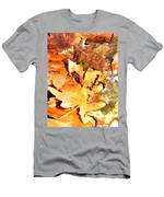 Lines Of Fall Men's T-Shirt (Athletic Fit)