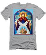 Mary And The Holy Church Men's T-Shirt (Athletic Fit)