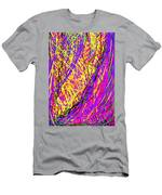 Rainbow Divine Fire Light Men's T-Shirt (Athletic Fit)