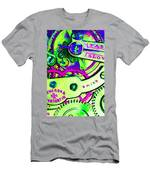 Time In Abstract 20130605m108 Men's T-Shirt (Athletic Fit)