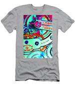 Time In Abstract 20130605m36 Men's T-Shirt (Athletic Fit)