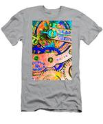 Time In Abstract 20130605p180 Men's T-Shirt (Athletic Fit)