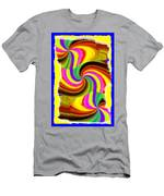 Abstract Fusion 123 Men's T-Shirt (Athletic Fit)