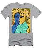 Feminine Kaleidoscope Men's T-Shirt (Athletic Fit)