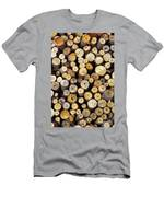 Firewood Men's T-Shirt (Athletic Fit)