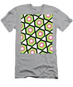 Hexagon Men's T-Shirt (Athletic Fit)