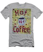 Hot Coffee Men's T-Shirt (Athletic Fit)