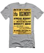 Recruiting Poster, 1863 Men's T-Shirt (Athletic Fit)