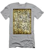 Roses Pattern Men's T-Shirt (Athletic Fit)