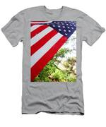 American Flag 1 Men's T-Shirt (Athletic Fit)