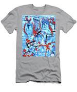 Amusement Park Men's T-Shirt (Athletic Fit)
