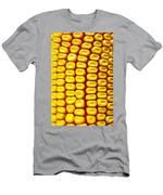Background Corn Men's T-Shirt (Athletic Fit)