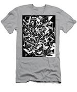 Building Blocks 2 Men's T-Shirt (Athletic Fit)