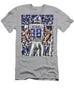 Dez Bryant Cowboys Art 2 Men's T-Shirt (Athletic Fit)